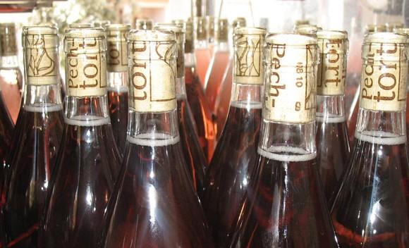 Mise en bouteille au domaine Pech-Tort